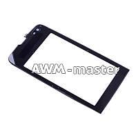 Сенсорное стекло Nokia 308 черное. H/C
