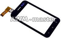 Сенсорное стекло Sony ST21 i черное H/C