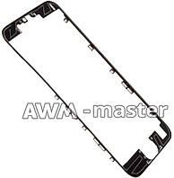 Рамка для дисплея с термо клеем Apple iPhone 6S 4.7 чёрный AAA