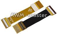 Шлейф Samsung D900 межплатный,с компонентами. копия