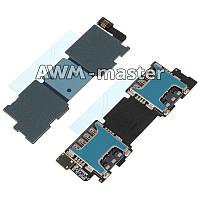 Шлейф Samsung G900H,G900F,Galaxy S5 на разъем 2х сим карт,с компонентами. Оригинал