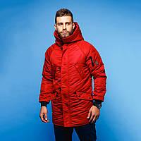 Зимняя куртка Red and Dog Onoma - красная, фото 1