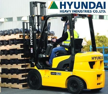 Дизельный погрузчик Hyundai 15D-7E