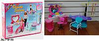 Мебель Gloria для кукол игрушка парикмахерская код 2509