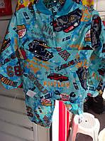 Детская теплая пижама начес 26 рр