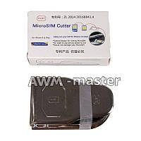 Ножницы для обрезки 3х сим карт 2 Nano, Micro sim cutter DLBT