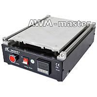 """Сепаратор вакуумный """"14"""" 30см*20см Hairui 969DP+ для разделенеия дисплейных комплектов со встроенным компресор"""