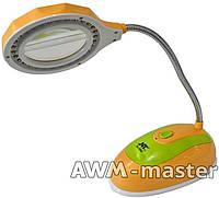 Лампа настольная, светодиодная с линзой LED NT-328