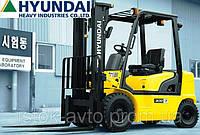 Дизельный погрузчик Hyundai 25DF-7