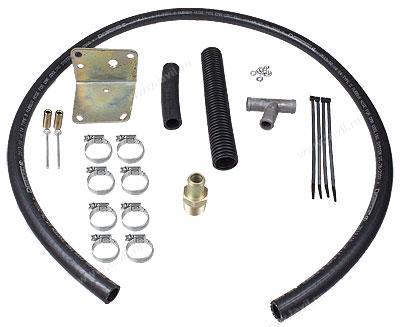 Комплект монтажный КМП-0053 для электроподогревателя Северс (Hyundai HD78 с дв. d4DD)
