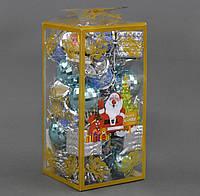"""Ёлочная игрушка С 21985  """"Микс игрушек"""", d=4 см"""