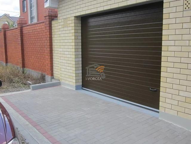 автоматические ворота в гараж