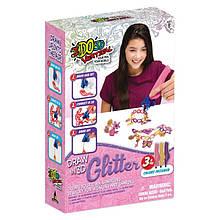 Набор для детского творчества с 3D-маркером ЮВЕЛИРНЫЕ ИЗДЕЛИЯ(3D-маркер с блестками-3 шт,аксессуары)