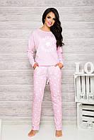 Женская пижама Nadia 1190 от TM Taro (Польша) Розовая