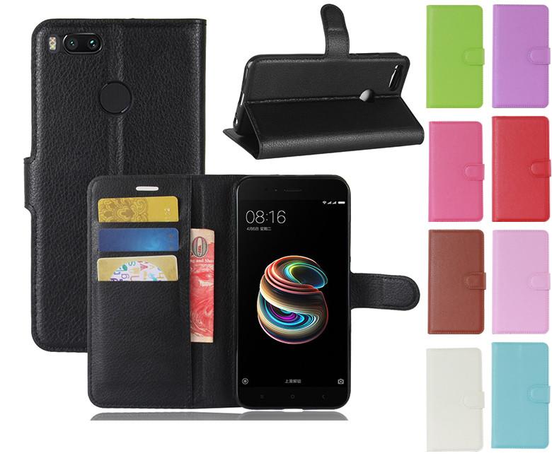Чехол книжка Lichee для Xiaomi Mi 5X (9 цветов), Разные цвета