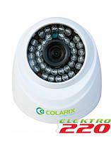 POE IP камера охранного видеонаблюдения COLARIX CAM-IIF-004 1Мп, f2.8мм.