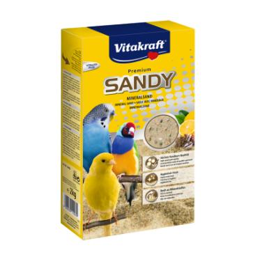 Vitakraft Премиум Sandy Mineralsand гигиенический песок для птиц 2кг (11003)