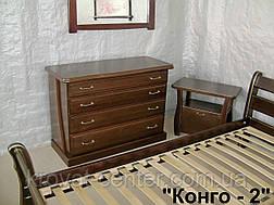 """Комод деревянный """"Конго - 2"""", фото 2"""