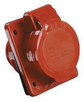 Розетка ІЕК ССИ-415 для внутрішнього монтажу 3Р+РЕ+N 16А 380В ІР44