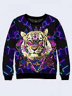 Свитшот Тигр и орнамент
