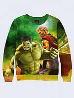 Свитшот Hulk and Thor