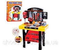 Детский набор инструментов мастерская столик 35 инструментов