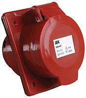 Розетка стаціонарна для прихованої проводки ІЕК ССИ-425 3Р+РЕ+N 32А 380V dfe28fe8cf120