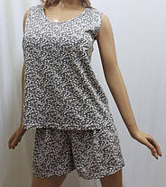 Пижама шорты с майкой хлопок, размеры от 52 до 56, Харьков, фото 2