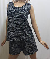 Пижама шорты с майкой хлопок, размеры от 52 до 56, Харьков, фото 3