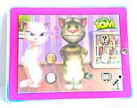 Интерактивный планшет Кот Том!повторшка,реагирует на касания,звук,свет