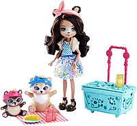 Игровой набор кукла ENCHANTIMALS Пикник на природе, фото 1
