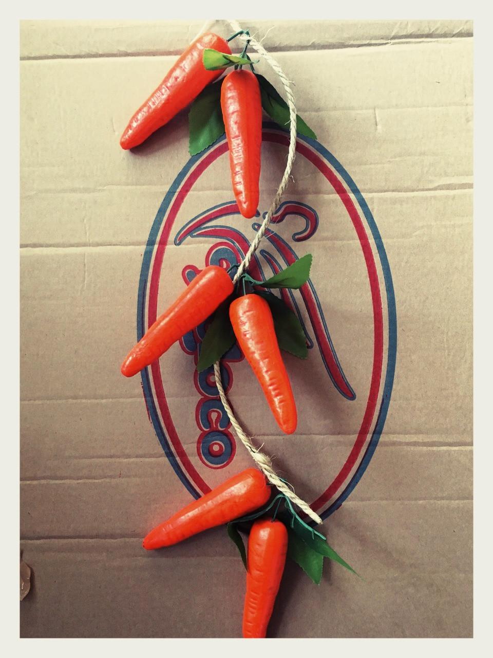 Вязка искусственной моркови