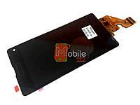 Модуь для Sony D5503 Xperia Z1 Compact (Дисплей + тачскрин), чёрный