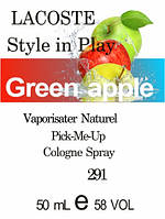 Духи 50 мл (291) версия аромата Лакост Style In Play