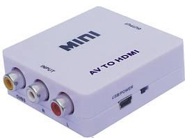 Конвертор AV /HDMI (коробка)  dl