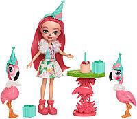 Набор с куклой Энчантималс Праздник Фламинго Enchantimals Let's Flamingle
