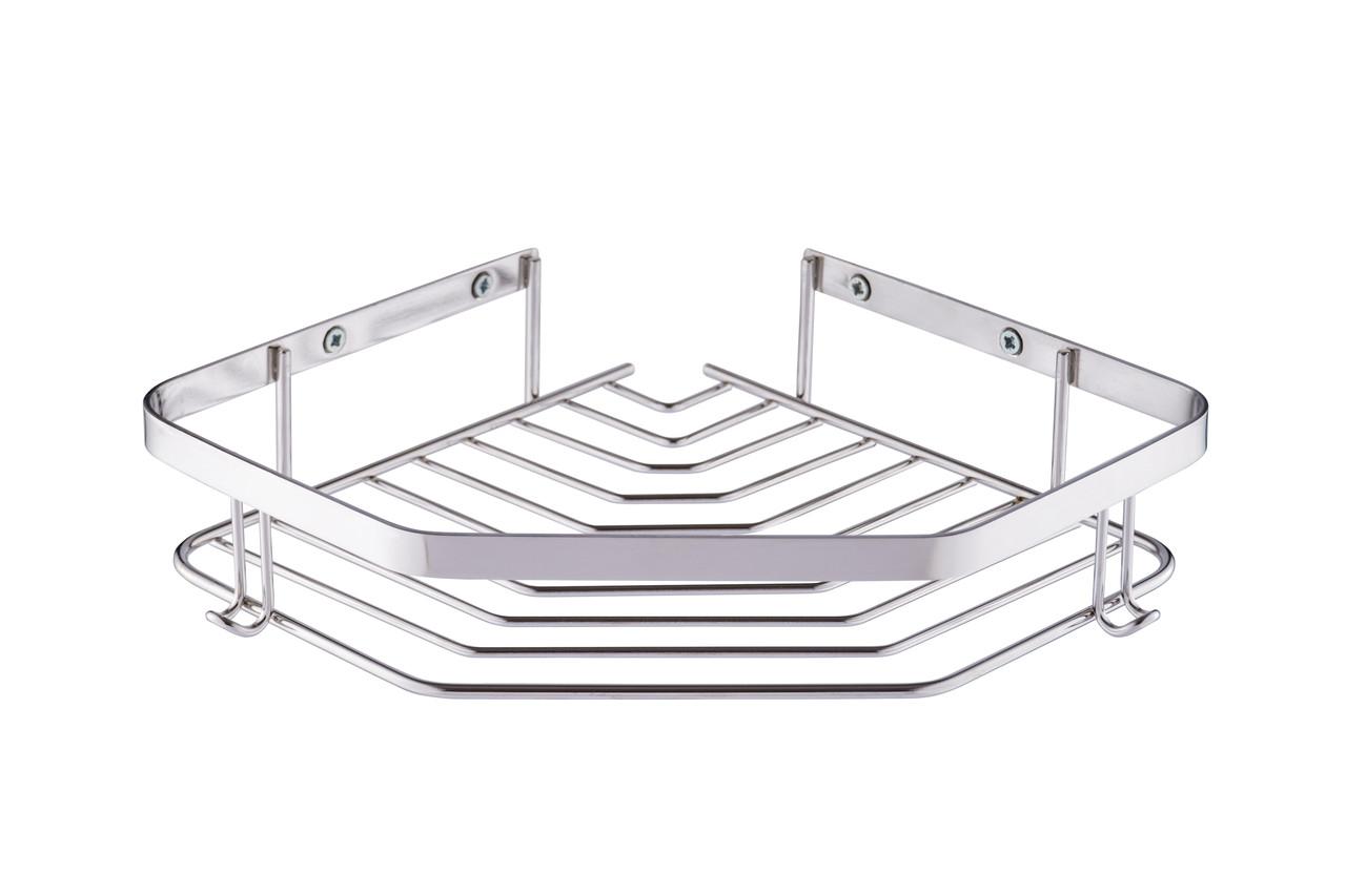 Полиця для ванної 22x22 см із нержавіючої сталі марки 304