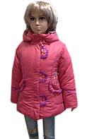 Пальто зимнее с жилеткой и шарфиком
