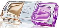 Дорогие женские духи Avon Eve Duet, 50 мл. Цветочно-фруктовый и цветочно-древесный ароматы