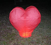 Небесные фонарики в виде сердца Николаев, фото 1