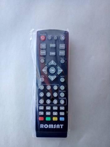 Пульт DVB-T2 Romsat T2050/ T2050+/T2070/ T2090/ T2200/ T2900/ T2950HD/ T2300HD  T2 mini  , фото 2