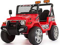 двухместный детский электромобиль джип Passable