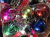 Шары новогодние глянцевые 7 см 6 шт 6 цв