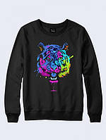Свитшот Цветной тигр