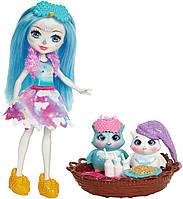 Игровой набор спальное место питомцев и кукла Энчантималс Enchantimals , фото 1
