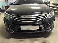 Решетка радиатора тюнинг Modellista на Toyota Camry v55 2015+ г.в.