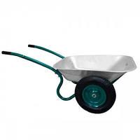 Тачка садовая двухколесная Forte WB6407, объем вода/песок 70/140 л, грузоподъемность 120 кг BPS
