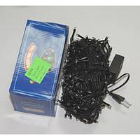 Гирлянда прозрачная 5 шнуров 8 функций 400LED ламп 4 цвета 25 м 220v