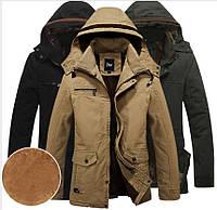 Мужской пуховик, парка,куртка зимняя на овчине Jeep .Натуральный пух.