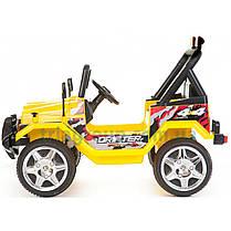 Двомістний дитячий електромобіль джип Passable, фото 3